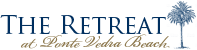The Retreat at Ponte Vedra Beach, Blue Fixed Header Logo